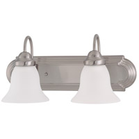 Nuvo 62/1124 Ballerina 2 Light 18 inch Brushed Nickel Vanity Light Wall Light