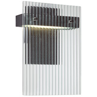 Nuvo Lighting Bin 1 Light Wall Sconce in Textured Black 62/117