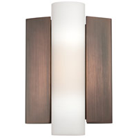 Nuvo Lighting Chase 1 Light Wall Sconce in Hazel Bronze 62/121