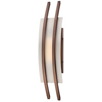 Nuvo Lighting Trax 1 Light Wall Sconce in Hazel Bronze 62/122