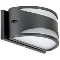 Nuvo 62/1221 Genova LED 5 inch Anthracite Outdoor Wall