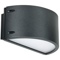 Nuvo 62/1223 Genova LED 6 inch Anthracite Outdoor Wall