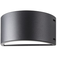 Nuvo 62/1223R1 Genova 6 inch Anthracite Outdoor Wall Sconce