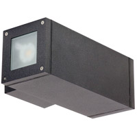 Nuvo 62/1231 Verona LED 10 inch Anthracite Outdoor Wall