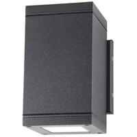 Nuvo 62/1233R1 Verona 7 inch Anthracite Outdoor Wall Light