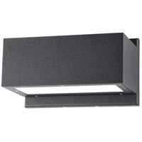 Nuvo 62/1237 Verona LED 5 inch Anthracite Outdoor Wall