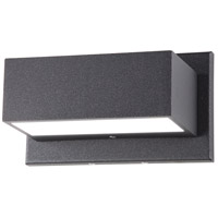 Nuvo 62/1241R1 Urbino 5 inch Anthracite Outdoor Wall Light