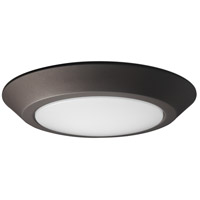 Nuvo 62/1263 Signature LED 7 inch Mahogany Bronze Flush Mount Ceiling Light