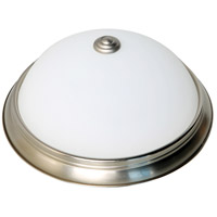 Nuvo 62/1340 Brentwood LED 11 inch Brushed Nickel Flush Mount Ceiling Light