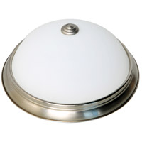 Nuvo 62/1341 Brentwood LED 12 inch Brushed Nickel Flush Mount Ceiling Light