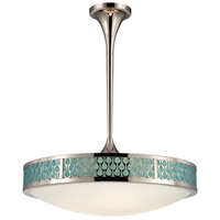 Raindrop LED 25 inch Polished Nickel Pendant Ceiling Light