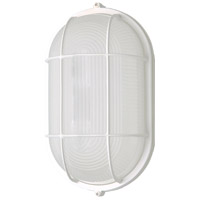 Nuvo 62/1410 Brentwood LED 4 inch White Outdoor Bulk Head