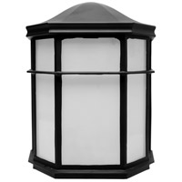 Nuvo 62/1417 LED Cage Lanterns LED Black Outdoor Caged Lantern