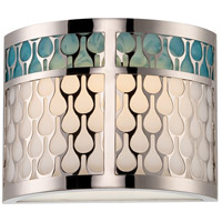Nuvo Lighting Raindrop 1 Light Wall Sconce in Polished Nickel 62/143