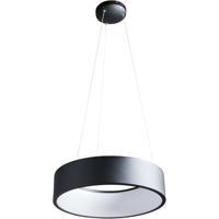 Nuvo 62/1456 Orbit LED 18 inch Black Pendant Ceiling Light