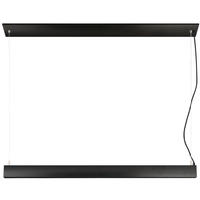 Nuvo 62/1461 Orbit LED 2 inch Black Pendant Ceiling Light