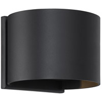 Nuvo 62/1464 Lightgate LED 5 inch Black Outdoor Sconce