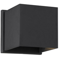 Nuvo 62/1466 Lightgate LED 5 inch Black Outdoor Sconce