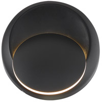 Nuvo 62/1469 Pinion LED 5 inch Black Outdoor Sconce