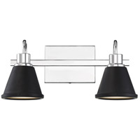 Polished Nickel Bette Bathroom Vanity Lights