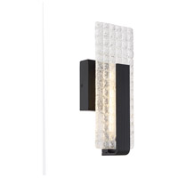 Nuvo 62/1481 Ceres LED 5 inch Matte Black ADA Wall Sconce Wall Light