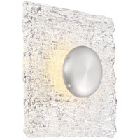Nuvo 62/1491 Riverbed LED 10 inch Polished Nickel Flush Mount Ceiling Light
