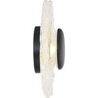 Nuvo 62/1494 Riverbed LED 10 inch Matte Black Flush Mount Ceiling Light