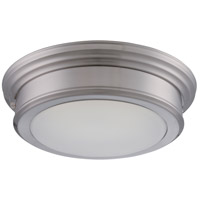 Nuvo Lighting Chance 1 Light Flush Mount in Brushed Nickel 62/151