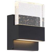Nuvo 62/1511 Ellusion LED 5 inch Matte Black ADA Wall Sconce Wall Light Small