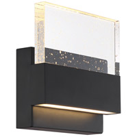 Nuvo 62/1512 Ellusion LED 7 inch Matte Black ADA Wall Sconce Wall Light Medium