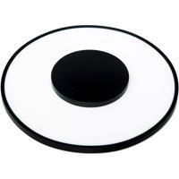 Nuvo 62/1516 Blink 13 inch Black Flush Mount Ceiling Light
