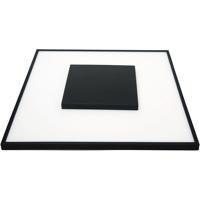 Nuvo 62/1520 Blink 13 inch Black Flush Mount Ceiling Light