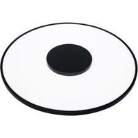 Nuvo 62/1524 Blink 17 inch Black Flush Mount Ceiling Light