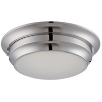 Nuvo Lighting Dash 1 Light Flush Mount in Brushed Nickel 62/154