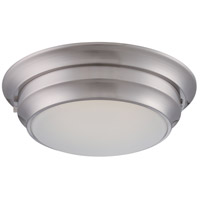 Nuvo Lighting Dash 1 Light Flush Mount in Polished Nickel 62/156