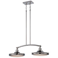 Nuvo Lighting Houston 2 Light Pendant in Polished Nickel 62/167