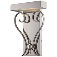 Nuvo Polished Nickel Metal Wall Sconces