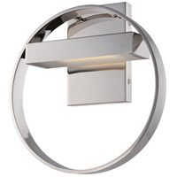 Nuvo Lighting Cirque 1 Light Wall Sconce in Polished Nickel 62/181