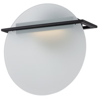 Latitude LED 11 inch Textured Black Wall Sconce Wall Light