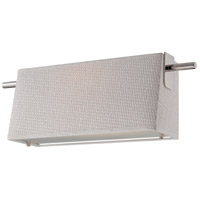 Nuvo Lighting Claire 1 Light Wall Sconce in Polished Nickel 62/191