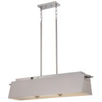 Nuvo Lighting Claire 3 Light Pendant in Polished Nickel 62/192