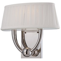 Nuvo Lighting Kent 1 Light Wall Sconce in Polished Nickel 62/195