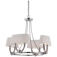 Nuvo Lighting Kent 4 Light Chandelier in Polished Nickel 62/196