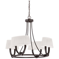 Kent LED 28 inch Copper Espresso Chandelier Ceiling Light