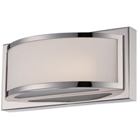 Nuvo Lighting Mercer 1 Light Wall Sconce in Polished Nickel 62/311