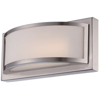 Nuvo Lighting Mercer 1 Light Wall Sconce in Brushed Nickel 62/317