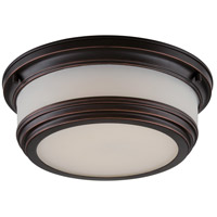 Nuvo Lighting Dawson 1 Light Flush Mount in Georgetown Bronze 62/325