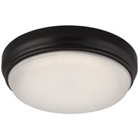 Nuvo Dot 1 Light Flush Mount in Georgetown Bronze 62/332