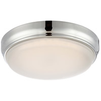 Nuvo Dot 1 Light Flush Mount in Polished Nickel 62/333