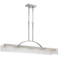 Nuvo Tangent 2 Light Pendant in Polished Nickel 62/338